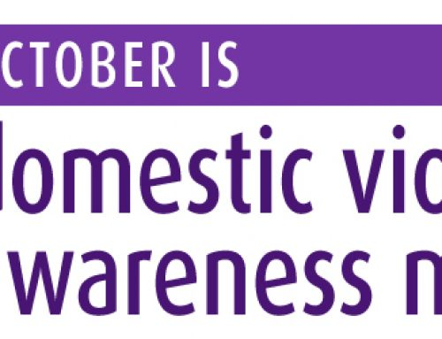 Octubre es el Mes de la Concientización sobre Violencia Domestica
