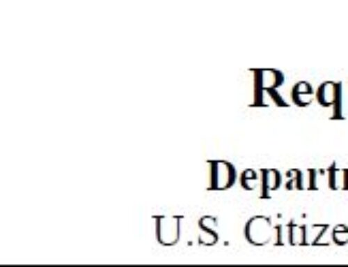 USCIS Publishes 2019 Poverty Guidelines for Fee Waiver Request