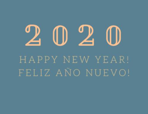 Feliz Año Nuevo!